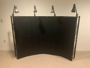 Skyline Mirage Popup Trade Show Display Lights w shipping Container
