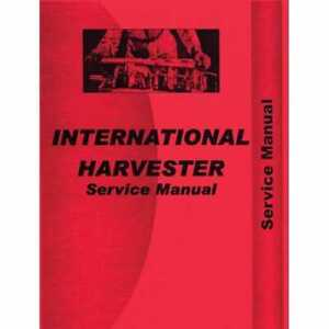 Service Manual 274 284 Compatible With International 274 274 284 284