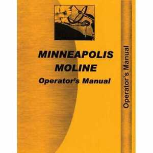 Operator s Manual G1000 Compatible With Minneapolis Moline G1000 G1000