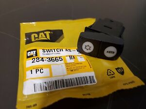 Caterpillar Cat Wheel Loader A c Heater Rocker Switch 284 3665 New
