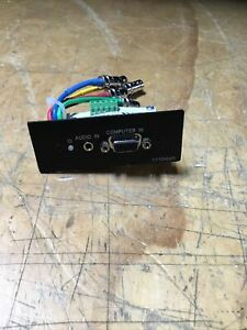 Extron Extender Aap Vga And Audio Line Driver Aap Version