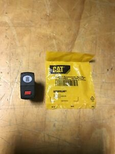 Caterpillar Cat Wheel Loader Implement Lockout Rocker Switch 284 3623