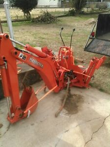 Kubota Bt601 Backhoe Used Slightly Fits Kubota Mid size Tractor As Kubota Bx25