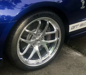 2005 2020 New Mustang Shelby Super Snake Oem Wheels Tires 50th Michelin 4s