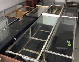 Blowout Special Glass Showcases Counter Display Electronics Jewelry Store Cases