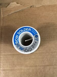 Bow Solder Solid Wire 95 Tin 5 Antimonty 094 Dia Made In Usa