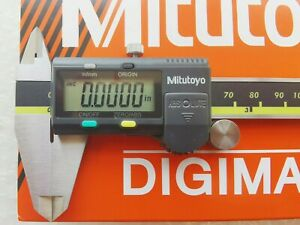 0 6 0 150mm Absolute Digimatic Caliper Mitutoyo 500 196 30 New 0 0005 0 01