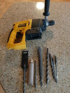 Dewalt Dw004 24 Volt 7 8 Sds Rotary Hammer Drill Bare Tool With Used Bits