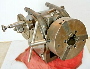Brown Sharpe Rotary Index Dividing Fixture Indexing Machinist Mill Usa