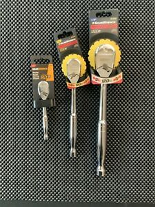 Gearwrench Ratchet Set 90 Tooth 1 4 And 120xp 3 8 1 2 New Items Warranty