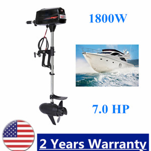 Hangkai 1 8kw 7hp Outboard Engine For Fishing Boat Electric Brushless Motor 48v