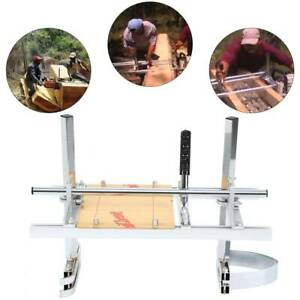 14 24 Chain Saw Mill Log Planking Lumber Chainsaw Guide Bar Portable Samger