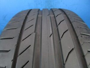 Used Continental Contisportcontact 5 Ssr 225 40 19 7 8 32 Tread 1417e