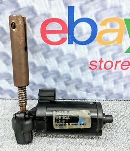 99 04 Jeep Grand Cherokee Driver Side Vertical Seat Motor With Gear Shaft