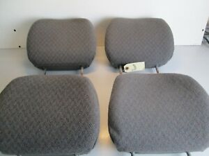 1998 2005 Chevy Tracker Front Rear Head Rest Headrest Seat Back Top Oem Gray