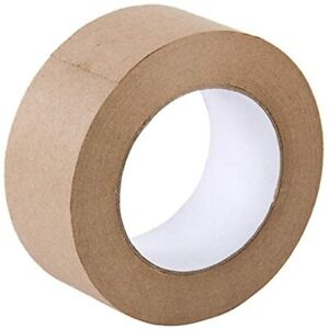 Looneng Water Activated Gummed Kraft Paper Tape 48mm Width X 54 7 Yd Length