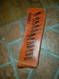 Vintage Nos Klenk Crimper Hvac Tin Knocker Sheetmetal Wilmington De Pexto Diacro