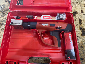 Hilti Dx 462 Powder Actuated Stamping Tool W X hm Head And Dies