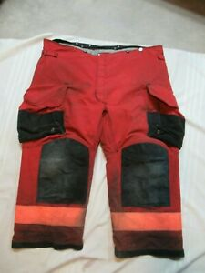 Lion Janesville 48xs Firefighter Turnout Bunker Gear Pants Rescue Tow