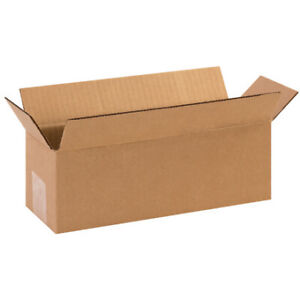 12 X 5 X 5 Long Corrugated Boxes Ect 32 Brown Shipping moving Boxes 25 bundle