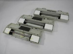 Lot Of 3 Reichert jung Microtome Tissue Slicing Blades Case Great Condition