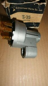 1966 Pontiac Bonneville Catalina Grand Prix Acadian Full Size Ignition Switch