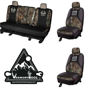Realtree Lowback Seat Cover Camo Realtree Full Size Bench Seat Cover