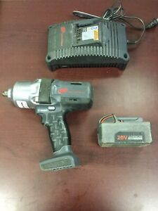 Ingersoll Rand W7000 20v Series Cordless Impact Wrench 1 2 1 Battery Charger