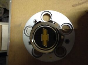 1977 95 Chevrolet Chevy Truck 5 Lug Metal Rally Wheel Center Hub Cap Oem