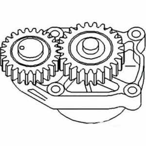 Oil Pump Compatible With Case Ih 5120 5220 White 6410 80 American 60 American