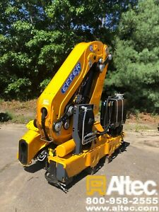 2019 Effer Ec365 4s Knuckle Boom Crane