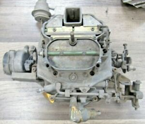 Motorcraft 4bbl 4350 Carburetor d5ve Ad Ford Mustang Excellent Original