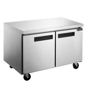 Dukers Duc48f 48 Inch Undercounter Commercial Freezer free Shipping
