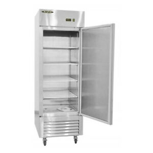 Nsf Single Door Stainless Steel Freezer Kf23b free Shipping
