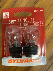 Sylvania 3157 Long Life Miniature Bulb Contains 2 Bulbs