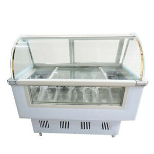 52 Inch Ice Cream Freezer Display Case 1 4ldf free Shipping