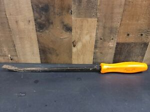 Used Snap on Spb18a Long Pry Bar 18 Snap On Usa Orange Handle Tool 18 5 Inch