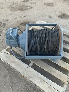 Braden Gearmatic Pd12c 12 000 Pound Hydraulic Winch