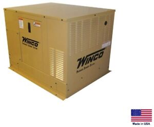 Standby Generator Commercial residential 20 Kw Ng Lp W transfer Switch