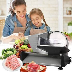 Vilobos 7 5 Electric Meat Slicer Blade Deli Commercial Home Food Cheese Cutter