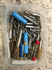 Huge Lot Of Drill Tool End Mill Many Brand New Many Diff Sizes
