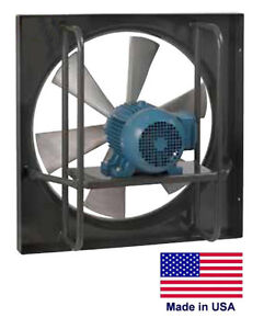 Exhaust Fan Commercial Explosion Proof 24 1 3 Hp 115 230v 4975 Cfm