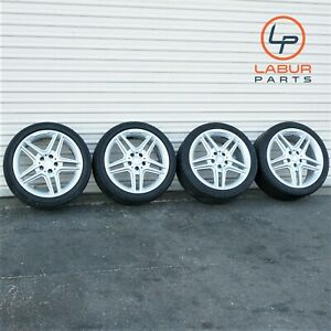 w408 W212 Mercedes 10 13 E Clas 18 Inch Wheels Tires E550 Amg Package Staggered