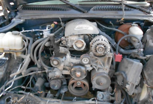 2005 2006 Chevy Truck 5 3l V8 Engine Complete Drop Out Ls Swap Lm7 140k Miles
