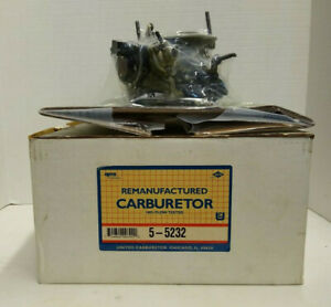 Holley Carb 2bbl 1985 1987 Chrysler Products 4 Cyl 135 2 2 Engine 5 5232