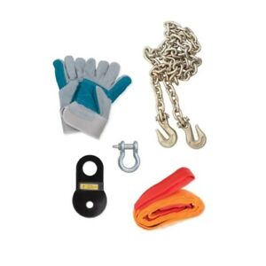 Rampage 86630 Recovery Winch Accessory Kit Black New