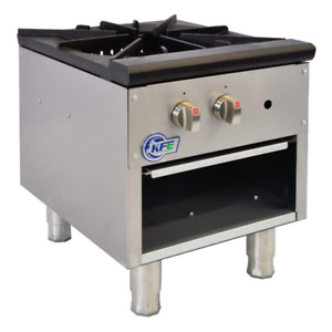 Commercial Natural Gas Stock Pot Range Kf sp 1 free Shipping