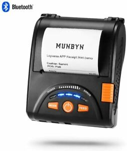 Munbyn Bluetooth Receipt Printer Android Bluetooth Mobile Printer P001
