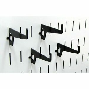 Wall Control Pegboard 2 7 8in Long Reach Slotted Hook Pack Metal Hooks For And