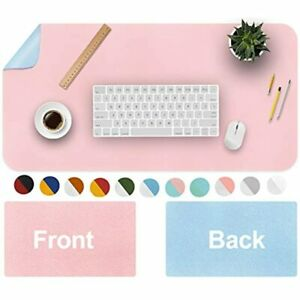 Office Desk Pad Mouse Mat Waterproof Blotter Protector Extended Pu Leather For